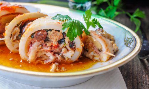 Calamari ripieni alla siciliana ricetta facile