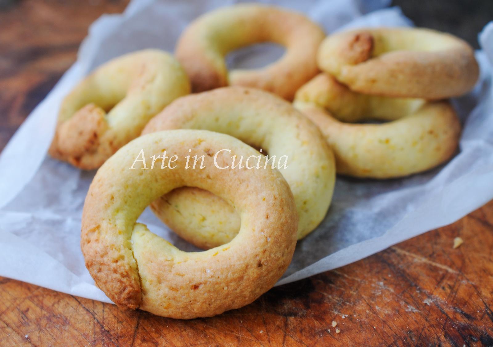 Ciambelline mandorle e mandarino vickyart arte in cucina