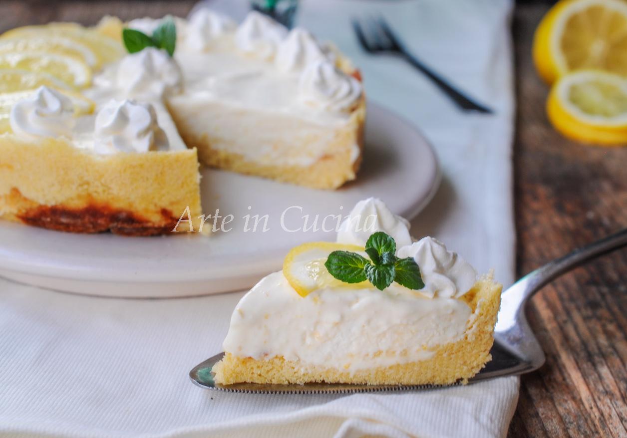 Crostata di pandoro con diplomatica al limone vickyart arte in cucina