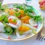 Insalata con arance finocchi e melograno vickyart arte in cucina