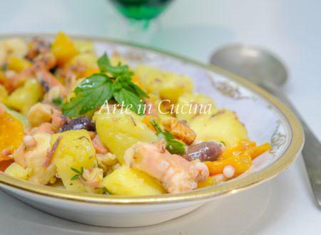 Insalata polpo peperoni e patate