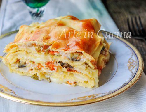 Lasagne al tonno e verdure veloce