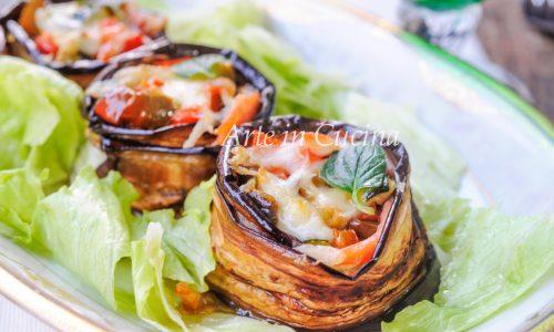 Parmigiana di tonno salmone e verdure facile