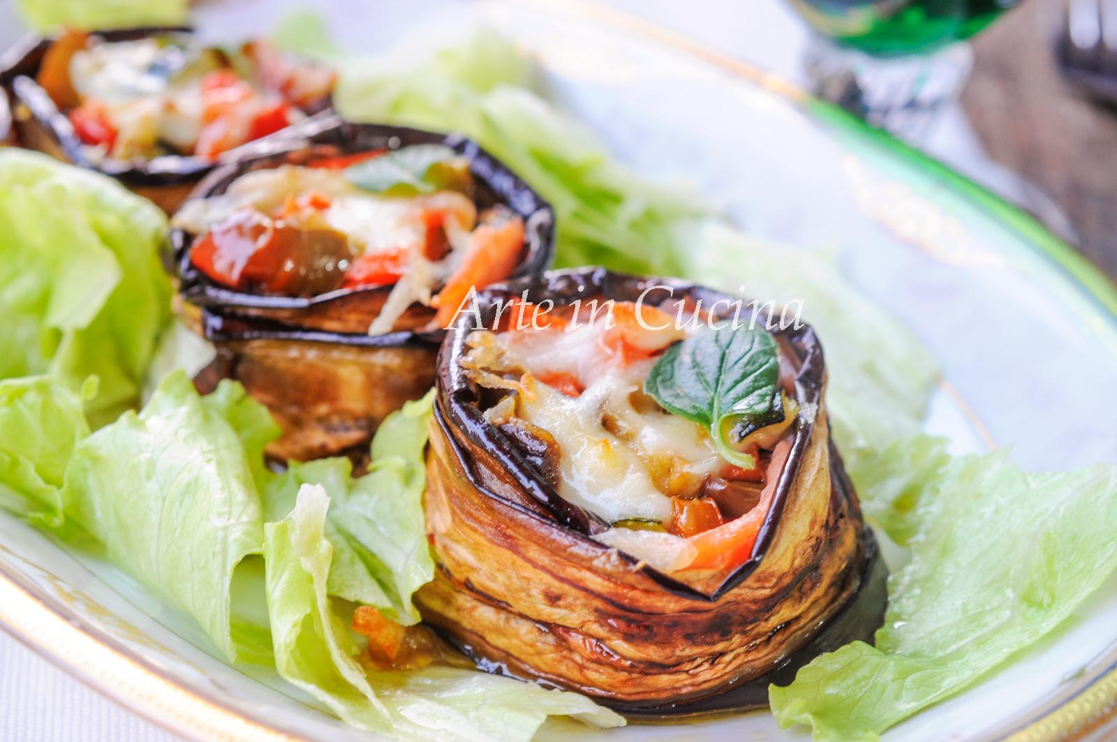 Parmigiana di tonno salmone e verdure facile vickyart arte in cucina