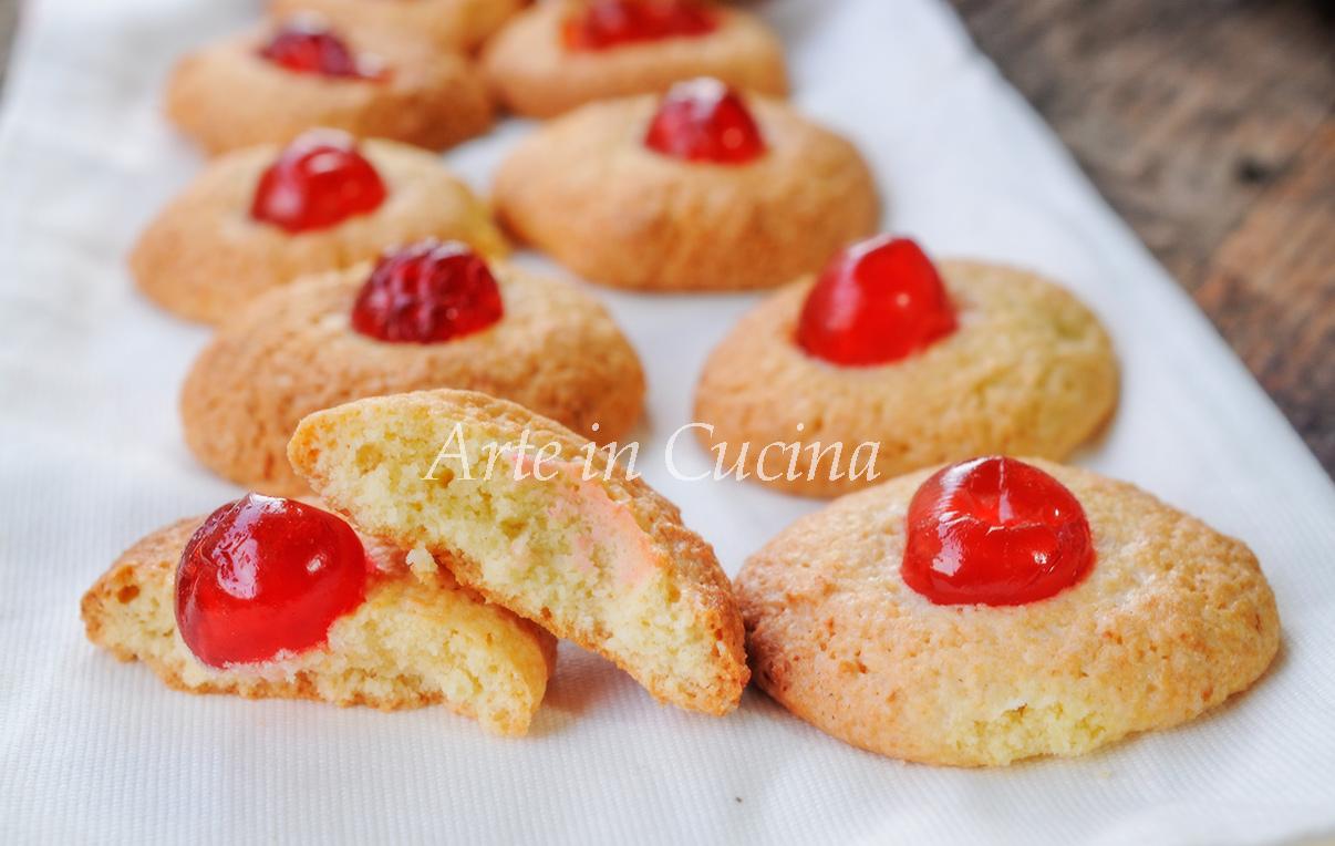 Pastine di mandorle con ciliegie candite vickyart arte in cucina