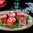 Rotolini di caprino noci e salmone antipasto vickyart arte in cucina