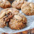 Schegge mandorle e cioccolato biscotti vickyart arte in cucina