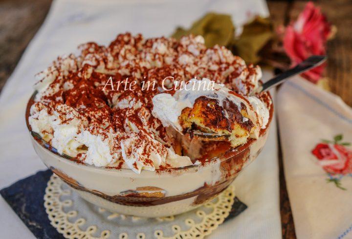 Tiramisù in coppette ricotta e nutella vickyart arte in cucina