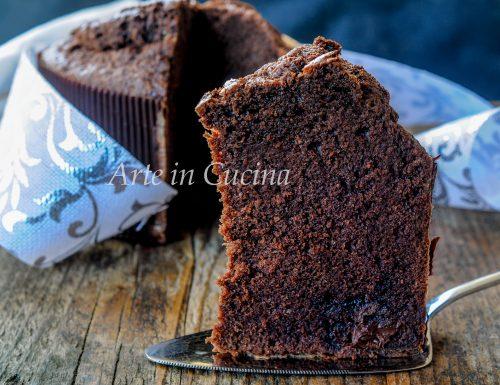 Torta panettone cioccolato e nutella veloce