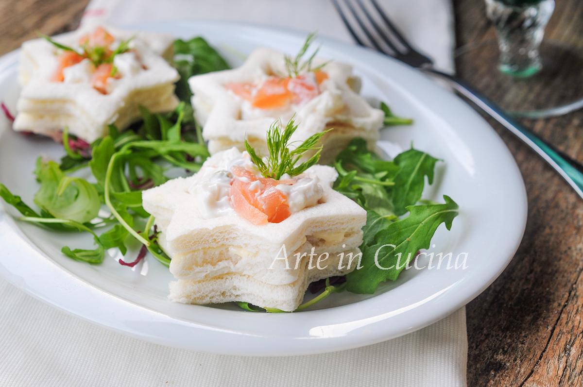Vol au vent con pancarrè salmone e insalata russa vickyart arte in cucina