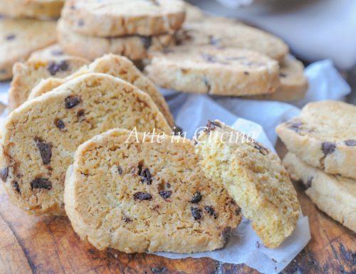 Biscotti facili e veloci al cioccolato