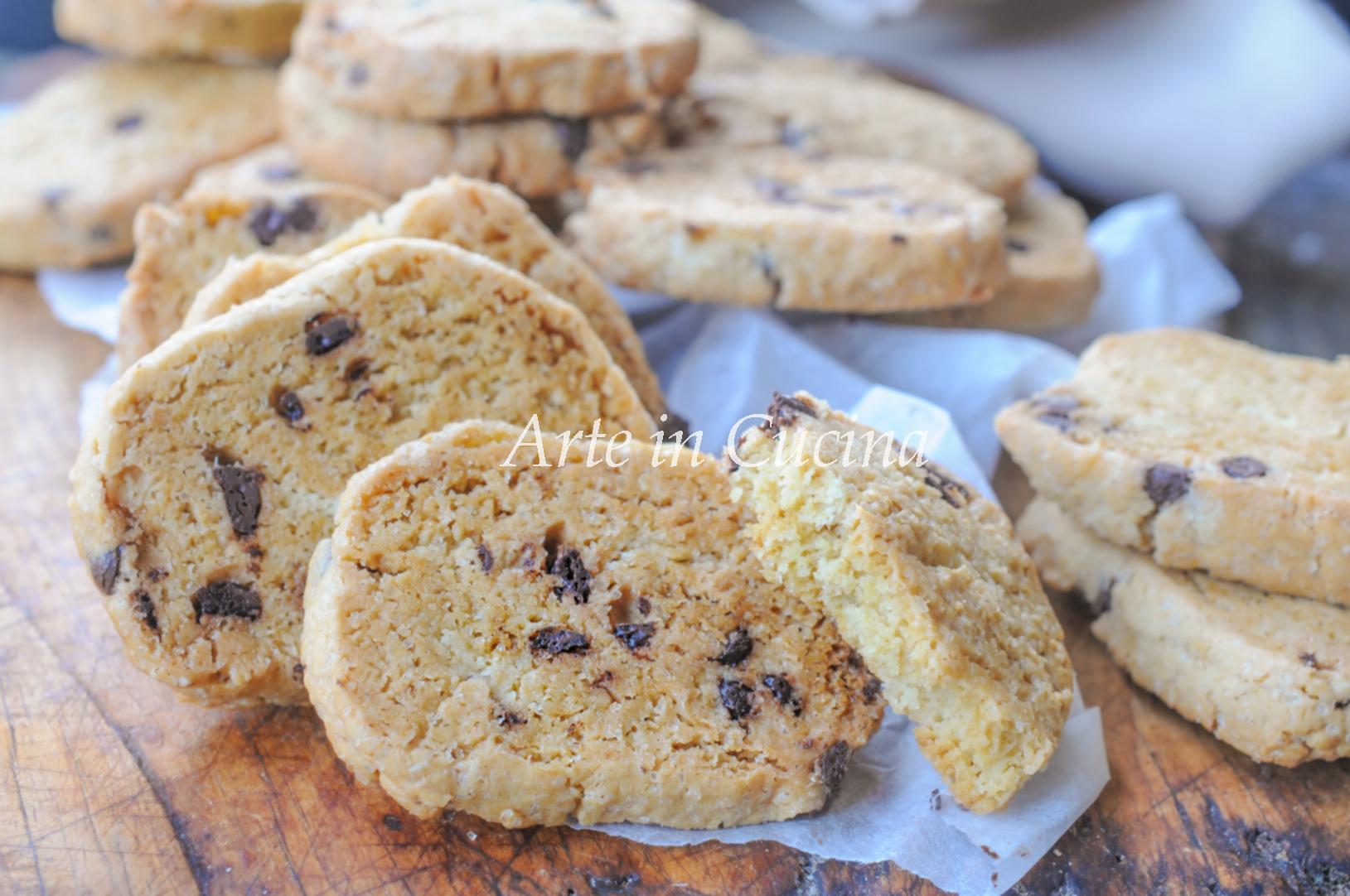 Biscotti facili e veloci al cioccolato vickyart arte in cucina