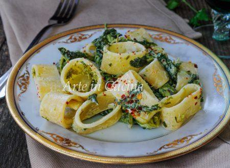 Calamarata cremosa con broccoletti facile