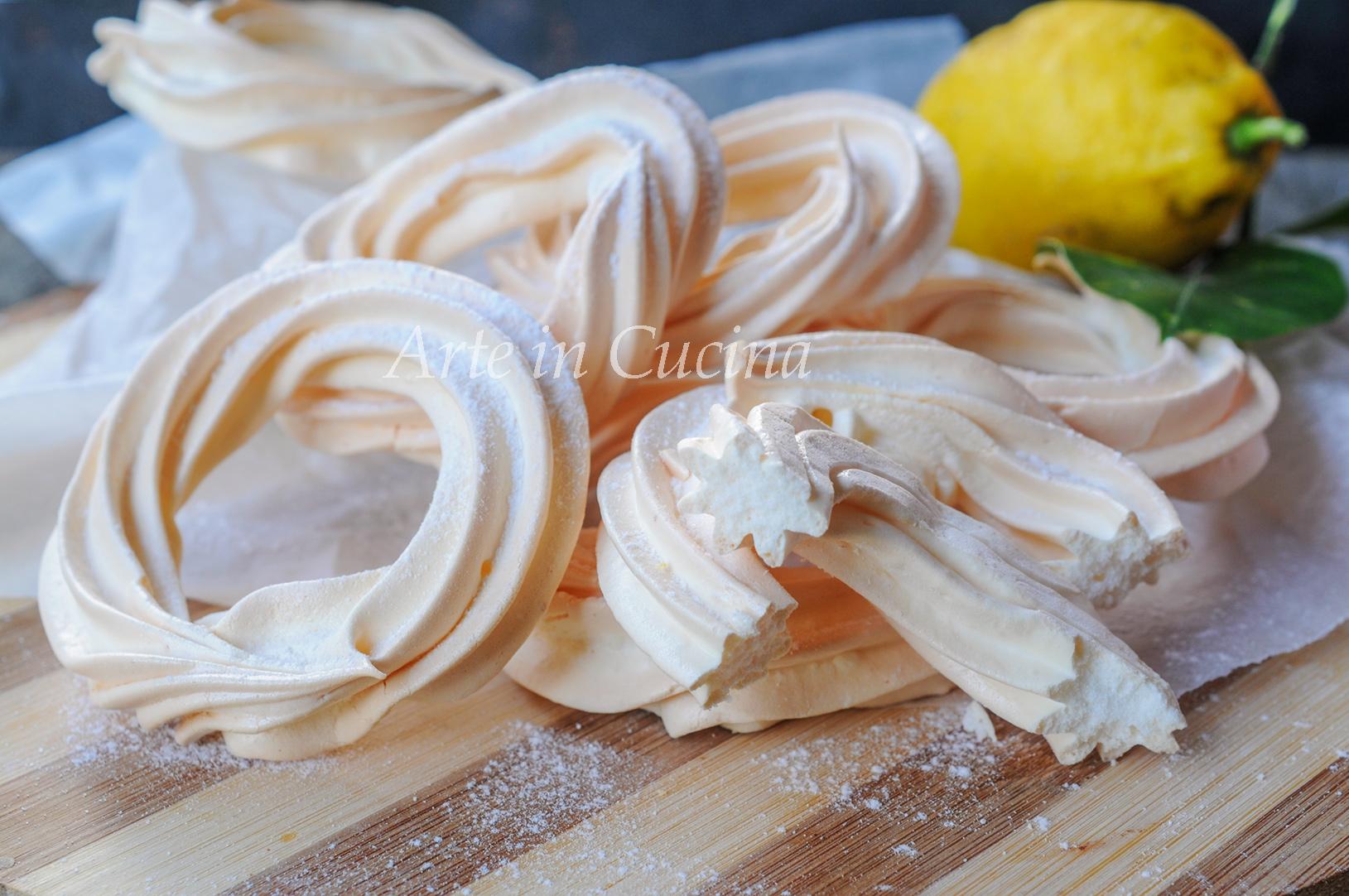 Ciambelline soffiate al limone veloci vickyart arte in cucina