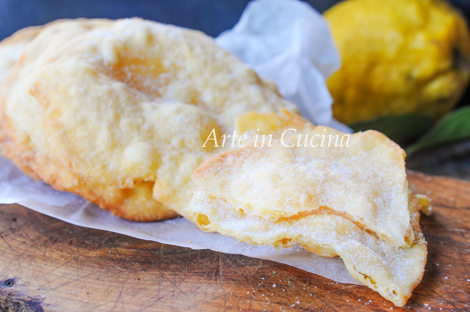 Frittelle di carnevale veloci al limone vickyart arte in cucina