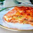 Lasagna alla bolognese con sfoglia verde vickyart arte in cucina