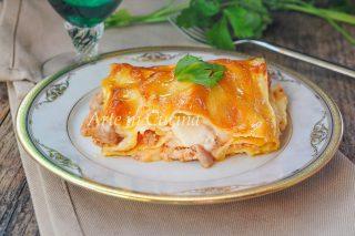 Lasagne salsiccia e provola veloci vickyart arte in cucina