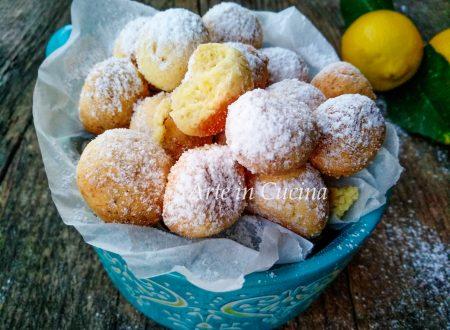 Pepite dolci al limone ricetta veloce
