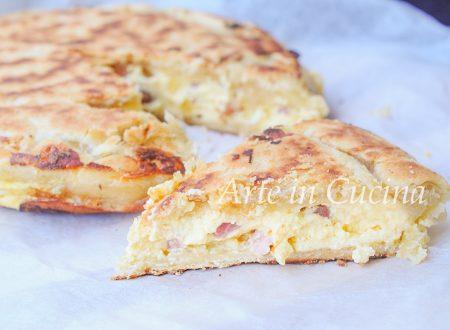 Pizza rustica veloce ricotta e provola