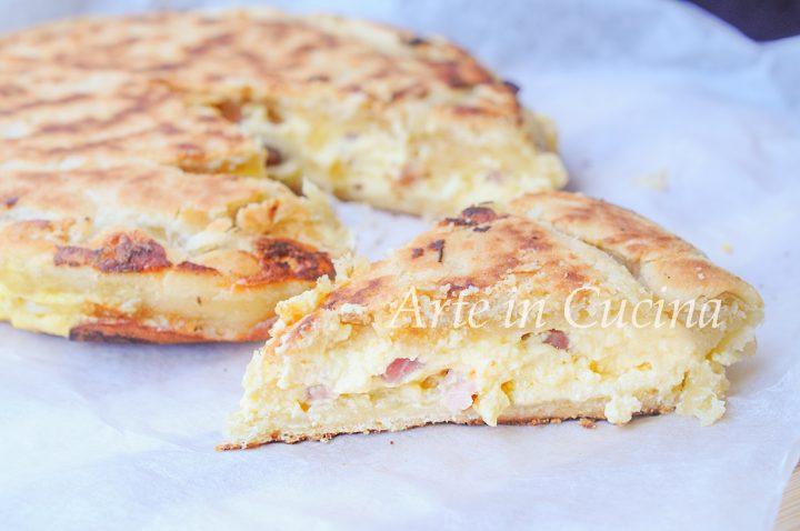 Pizza rustica veloce ricotta e provola vickyart arte in cucina
