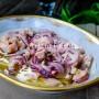 Salmone marinato con cipolla rossa vickyart arte in cucina