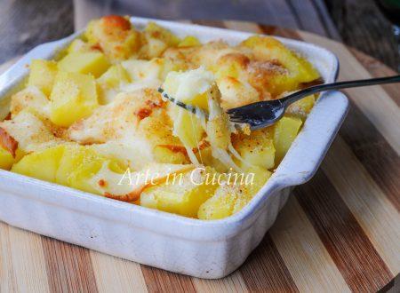 Sformato patate e provola al forno