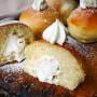 Bombe al forno senza burro e olio vickyart arte in cucina