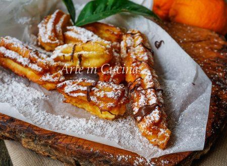 Churros all'arancia ricetta facile