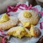 Focaccine alla crema dolci veloci e facili, ottimi a merenda o colazione, si preparano in pochi minuti, dolci perfetti per feste di compleanno e buffet. vickyart arte in cucina