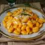 Gnocchetti sardi cremosi alla zucca vickyart arte in cucina