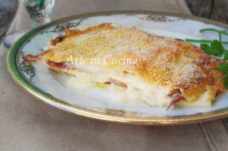 Lasagne speck e provola ricetta veloce vickyart arte in cucina