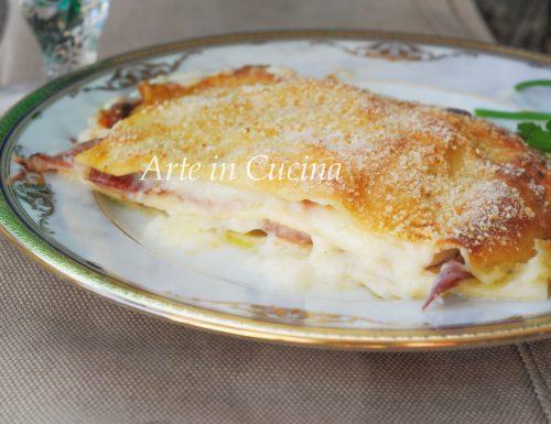 Lasagne speck e provola ricetta veloce