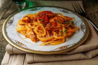 Linguine con sgombro e pomodorini veloce vickyart arte in cucina