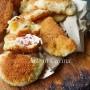 Lune ripiene cotto e formaggio veloci vickyart arte in cucina