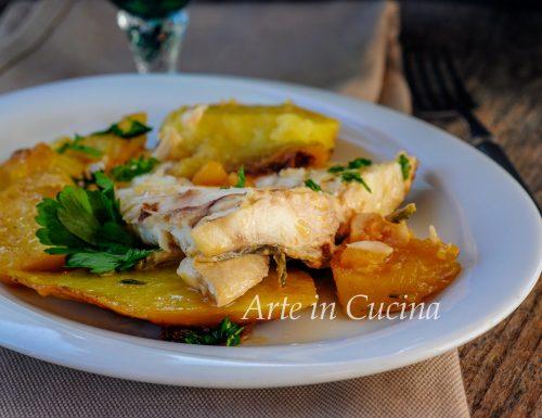 Orata con patate sfilettata in padella
