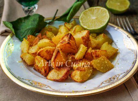 Patate croccanti al lime ricetta facile