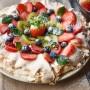 Pavlova frutti di bosco e marmellata vickyart arte in cucina