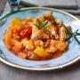 Straccetti di pollo cremosi con patate in padella vickyart arte in cucina
