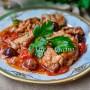 Straccetti di vitello olive e capperi veloci vickyart arte in cucina