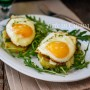 Bruschette morbide patate asparagi e uova vickyart arte in cucina
