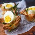 Cestini sfogliati con uova sode veloci vickyart arte in cucina