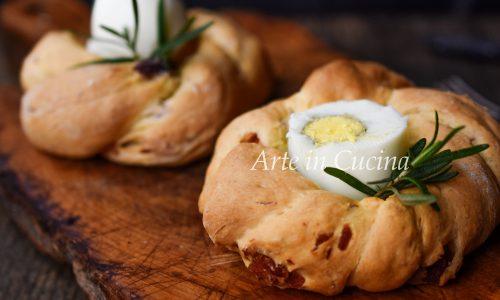Ciambelle salate per Pasqua in 10 minuti