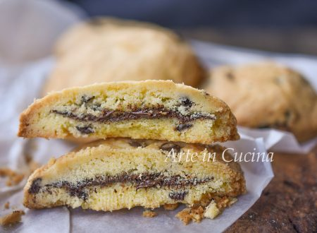 Cookies ripieni di nutella veloci