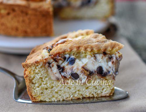 Crostata siciliana ricotta e cioccolato