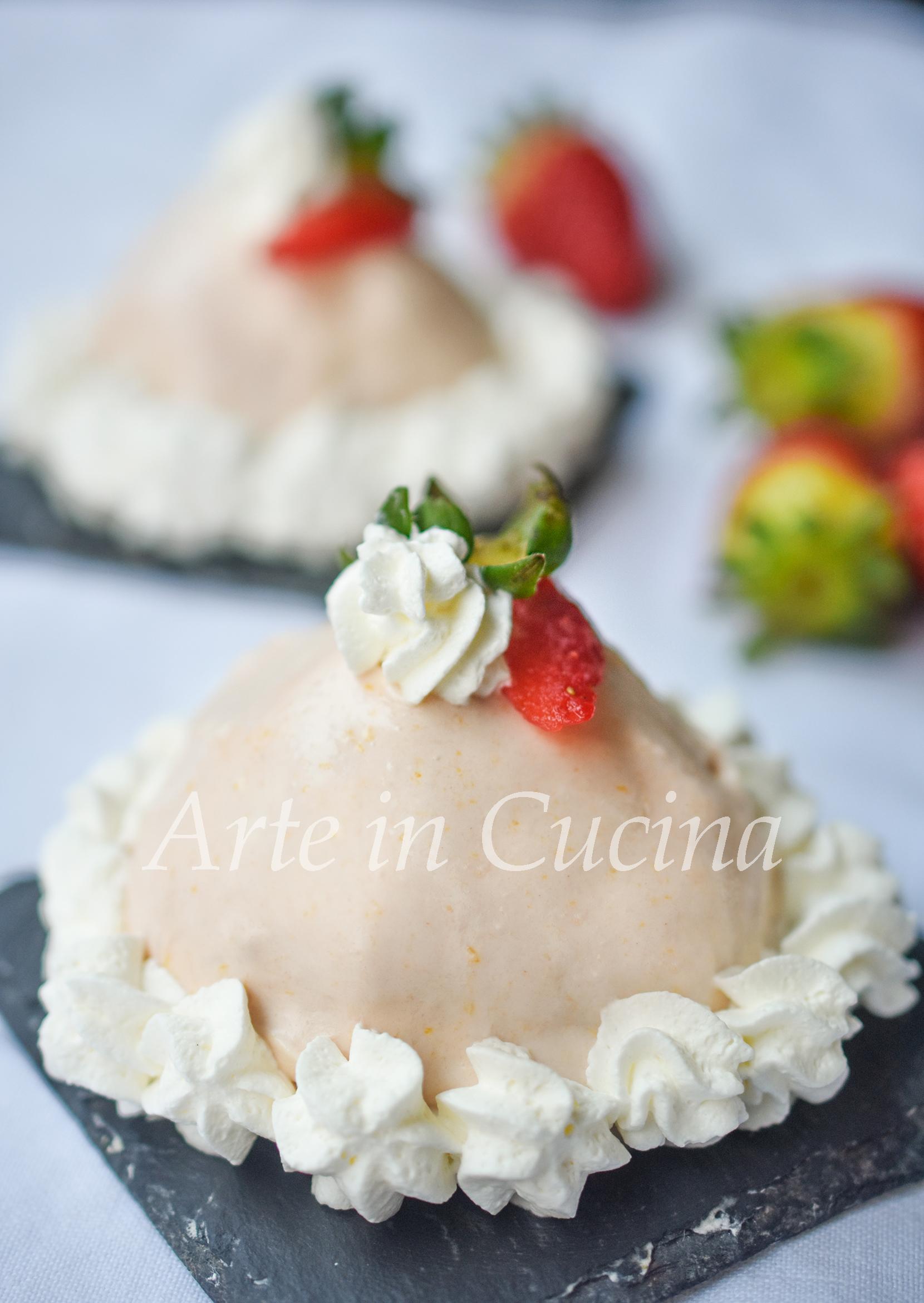 Delizie dolci alle fragole con crema vickyart arte in cucina