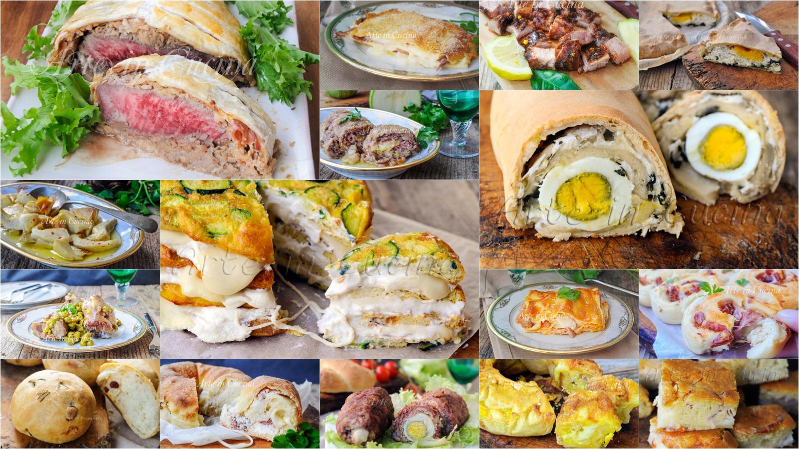 Menu di Pasqua facile ricette pranzo vickyart arte in cucina