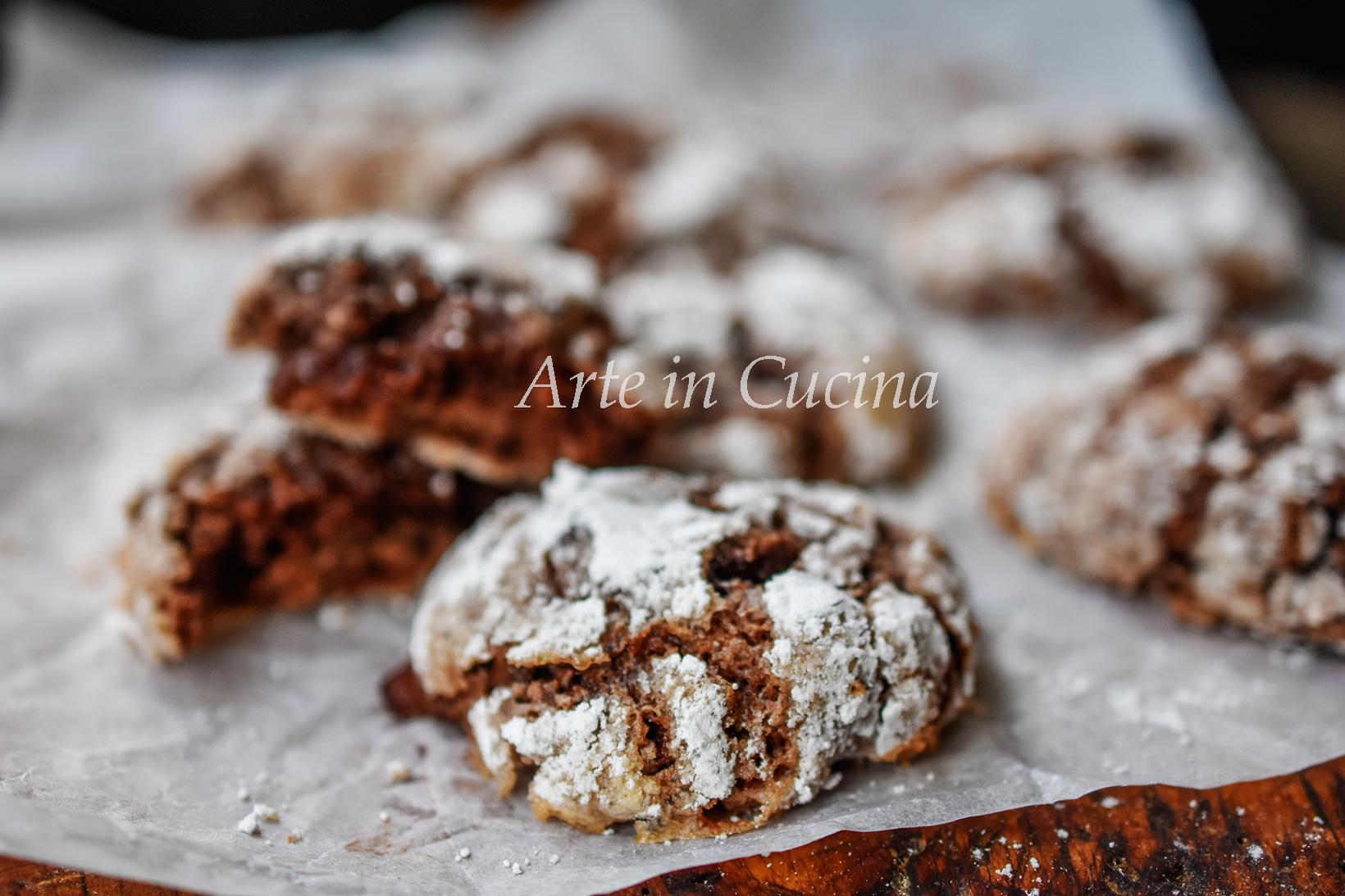 Nocciolotti alla nutella pasticcini veloci vickyart arte in cucina