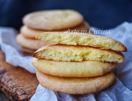 Nuvolette siciliane ciambelle bianche biscotti