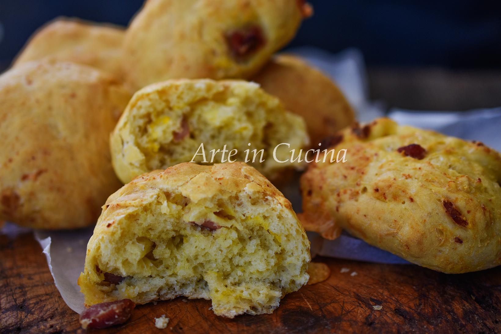 Panini salumi e uova rustici veloci vickyart arte in cucina