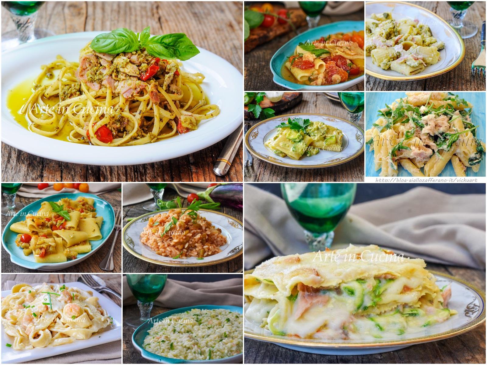 Primi piatti cremosi facili e veloci perfetti per pranzo o cena